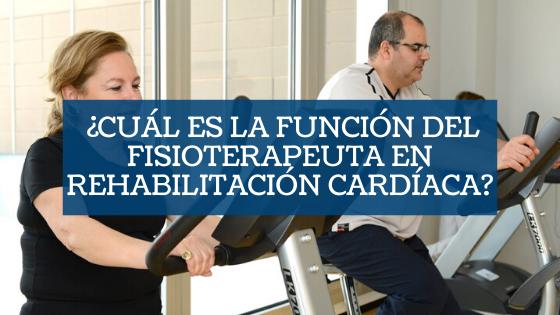 fisioterapeuta rehabilitación cardíaca